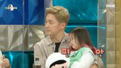 """처음으로 방송국 견학을 온 하율이!  """"아.빠.가.말.이.많.아"""", MBC 210224 방송"""